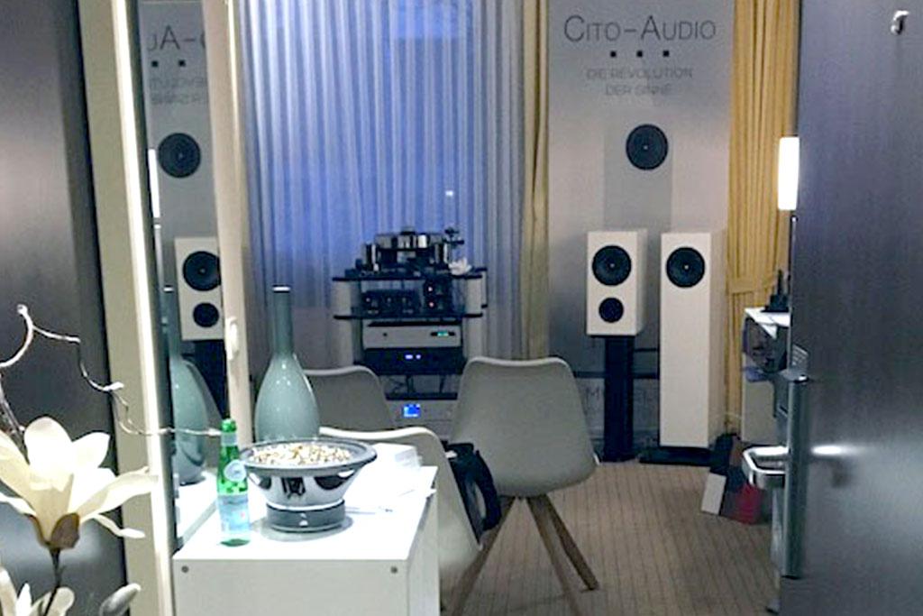 CITO-Audio auf den Süddeutschen HiFi-Tagen in Stuttgart